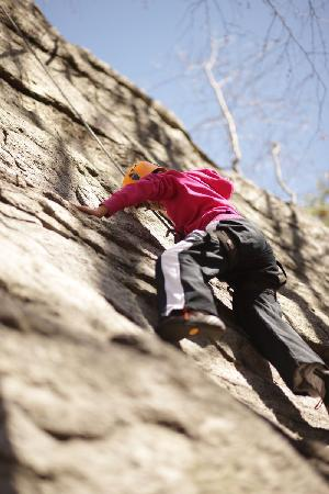 Minnewaska State Park Preserve: Crushing the climb