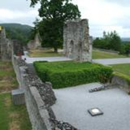 Ruins of the Castle of the Counts