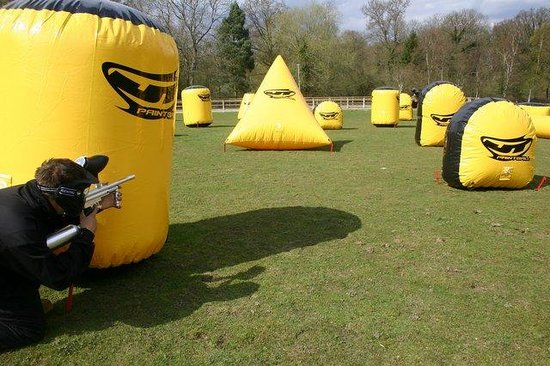 Delta Force Paintball Plymouth : Portable paintball