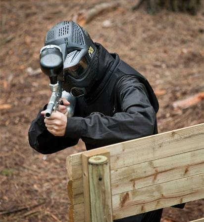 Delta Force Paintball Holmes Chapel: the paintball sniper