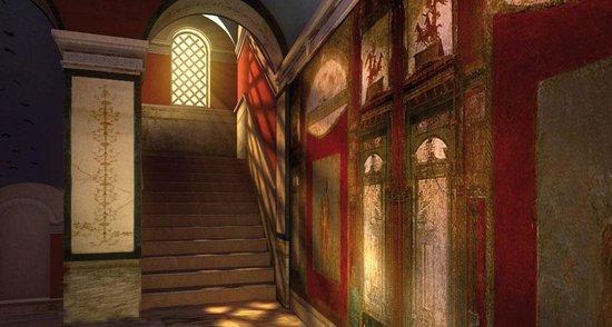 Le domus romane di palazzo valentini rome italy top for Domus address
