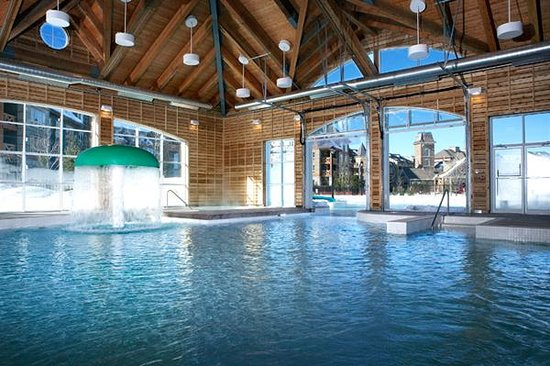 Swim indoor to out year round at Plunge!