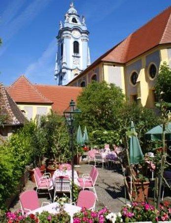 Restaurant Sanger Blondel: Gastgarten