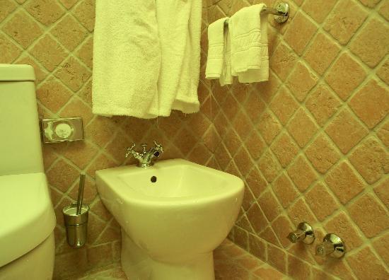 Suites Alba Resort & Spa: ausreichend Aufhängmöglichkeiten für Handtücher im Badezimmer