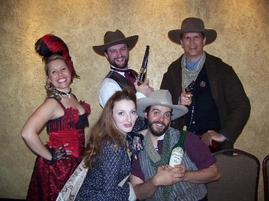 cast at Texas Star Dinner Theater