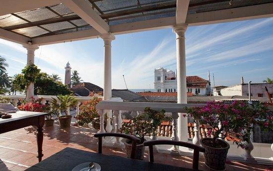 Foto de Mama's Galle Fort Roof Cafe