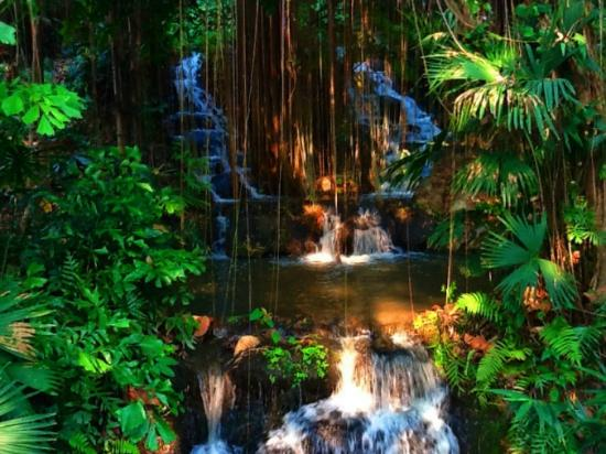 Four Seasons Resort Chiang Mai: Waterfall by One of the Villas