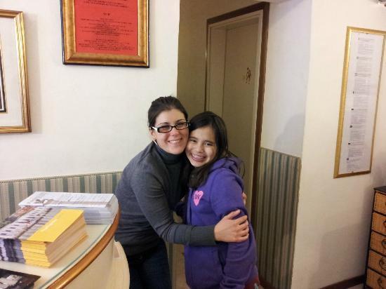 Hotel San Salvador: Faith and Stefania