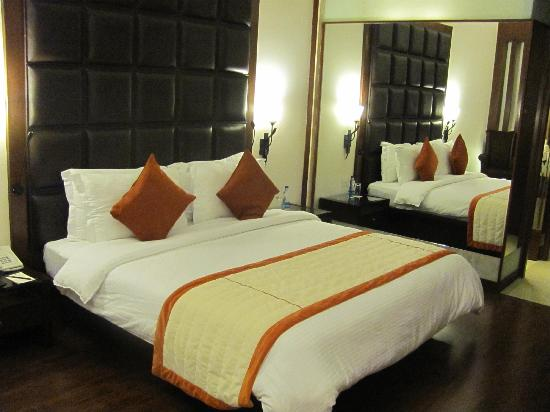 Regenta Hotel & Convention Centre: Double room.. adjacent mirror makes the room look bigger