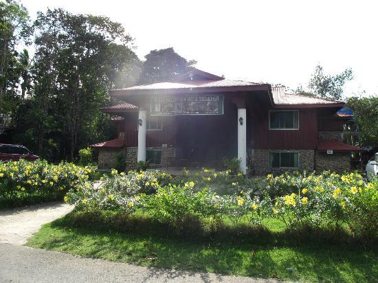 Sukau Greenview Bed & Breakfast : Main Building