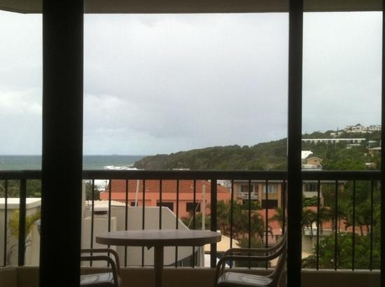 Clubb Coolum Beach: ocean view from 3 bed room unit