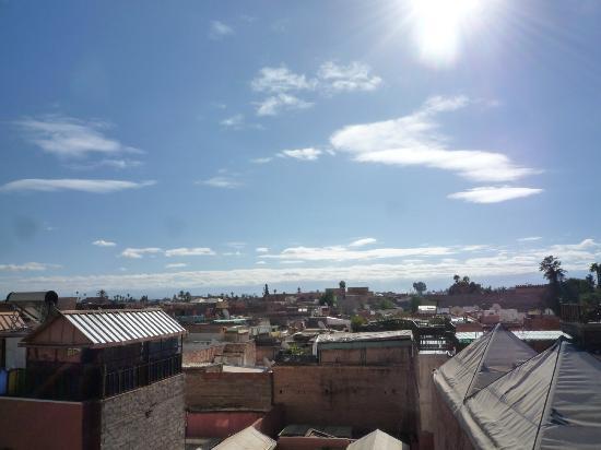 Hotel Medina: Vista desde la terraza