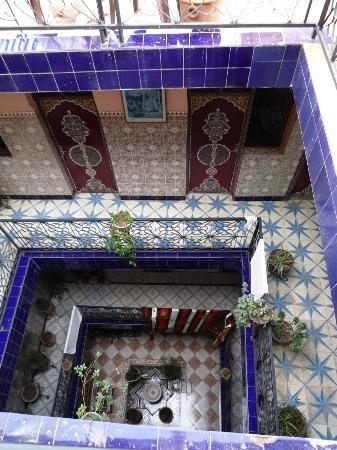 Hotel Medina: Vista del hotel desde la terraza