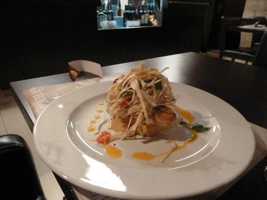 Otto Taverna: Chicken with hummus