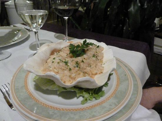 Eden: Seafood risotto