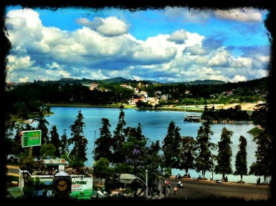 Hoa Sen: view from the balcony of room 205