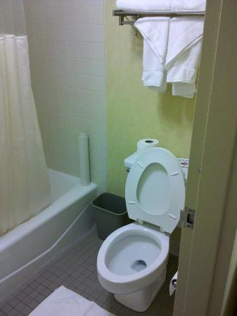 Days Inn Harrisburg North: clean bathroom