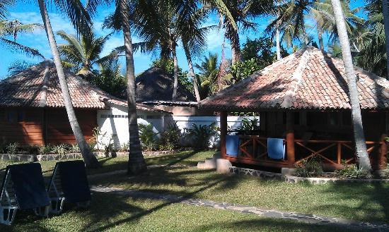 Rockside Cabanas Hotel: Garden view