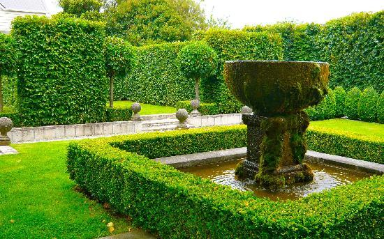Briarwood's formal garden