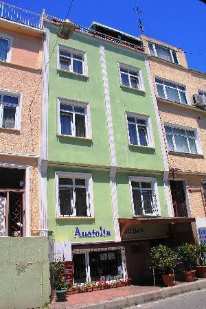 Anatolia Suites: Hotel facade