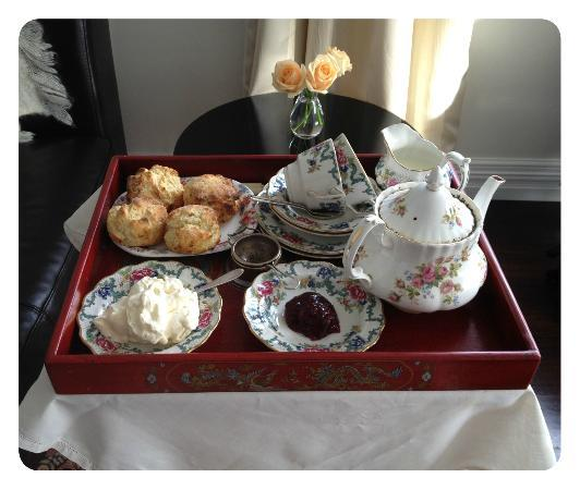 Ponsonby House: Afternoon tea