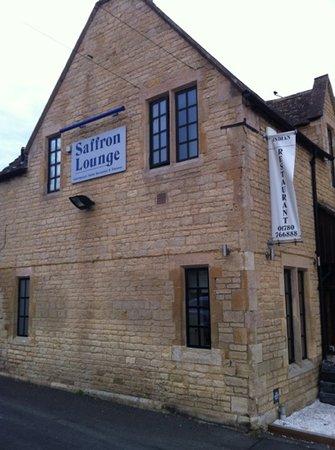 Saffron Lounge: Paul's view of the Saffron uffington