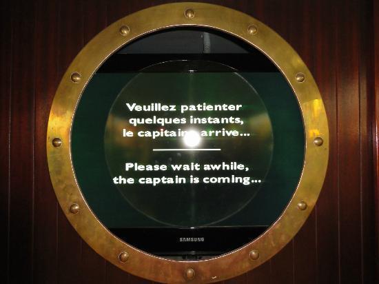 """Maritime Museum: Nous attendons toujours """"le Capitaine"""" ..."""
