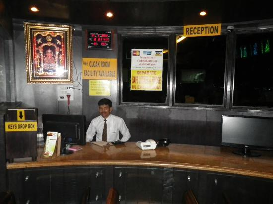 Reception at Parklane Hotel, Mysore