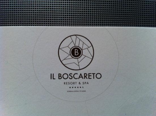 Il Boscareto Resort & Spa: biglietto da visita