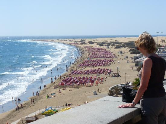 Monte Feliz: playa del ingles