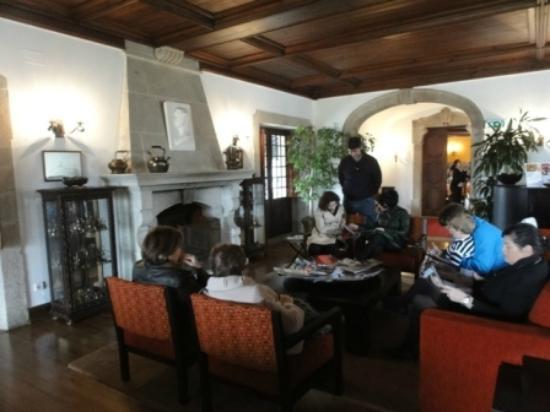 Estalagem da Boega: lounge/ lobby