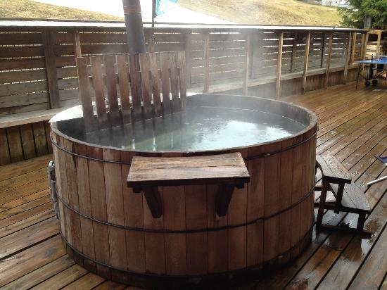 Chalet Le Panoramic: Hot Tub