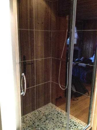 Chalet Le Panoramic: Shower in 'Tetras'