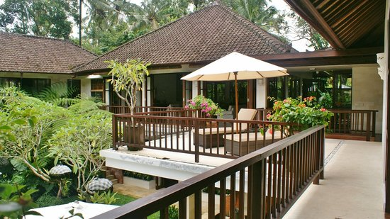 Villa Saraswati: Balcon