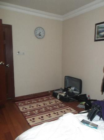 City Guesthouse Istanbul: where the bed was before we moved it