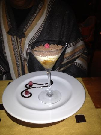 Rocanegra Mountain Lodge & Spa: Dessert