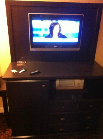Monterey Surf Inn: TV im Zimmer