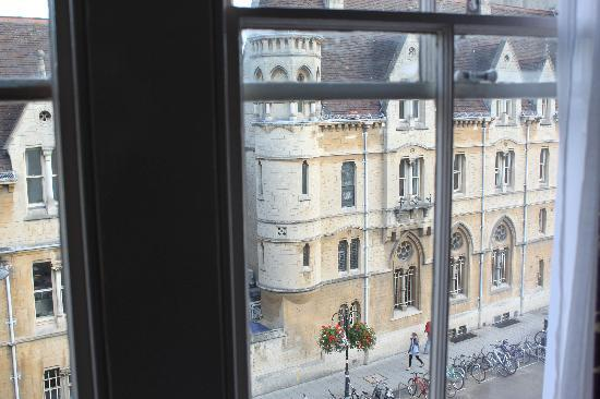 The Buttery Hotel: Out the window of our flat