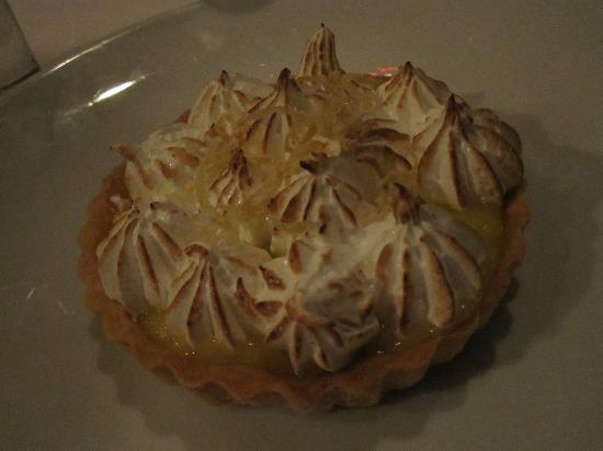 Lineage: lemon meringue tart