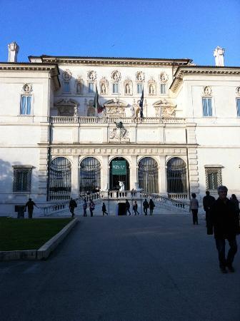 Aldrovandi Villa Borghese: Villa Borghese museum
