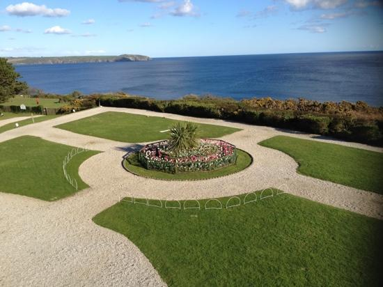 The Carlyon Bay: view from our room.. amazing
