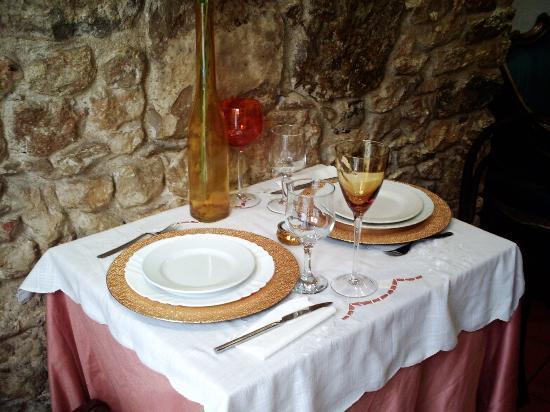 Tradição do Vinho: il nostro tavolo