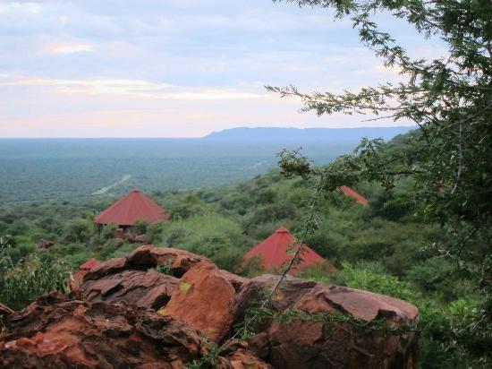 Waterberg Plateau Lodge: Hotelanlage