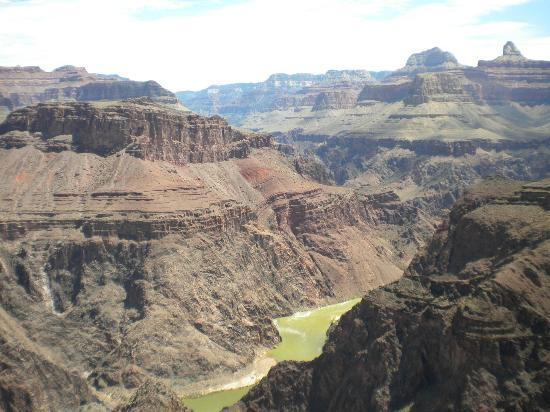 Indian Garden: Plateau Point, with the Colorado River below