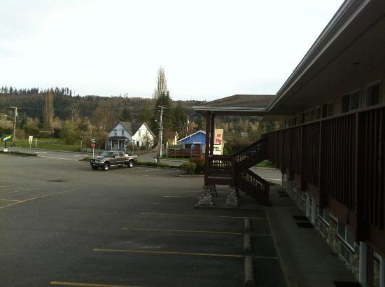 Mill Village Motel: Vista desde la habitación