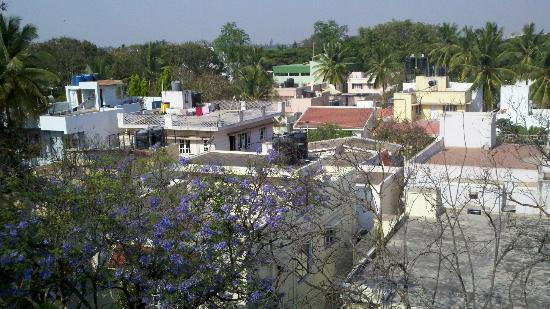 juSTa Indiranagar, Bangalore: View from rooftop restaurant