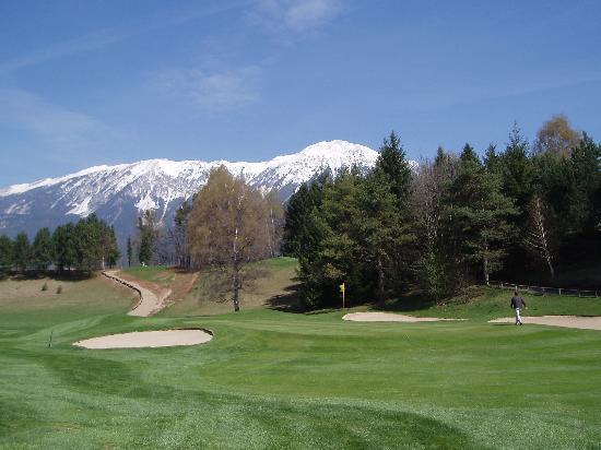 Golf Course Bled: Green tenuti molto bene