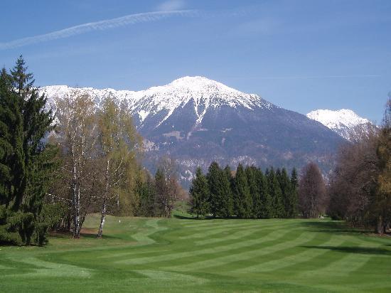 Golf Course Bled: Molto movimentato