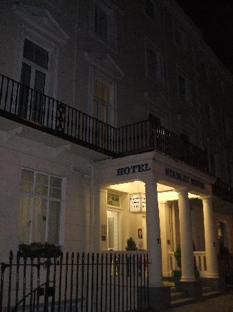 Stanley House: facciata dell'hotel
