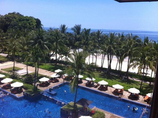 Club Med Bintan Island: Pool view from Bar